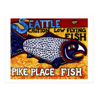 Pike Place Fish Post Card