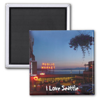 Pike Place Market Magnet