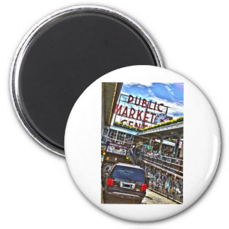 Pike Place Market Refrigerator Magnets