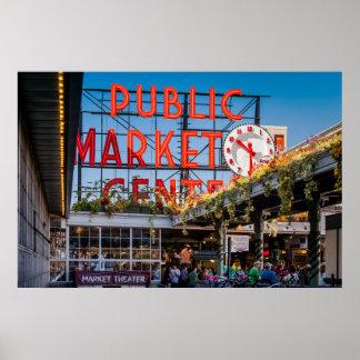Pike Place Public Market Poster