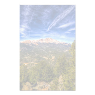 Pikes Peak and Blue Sky Personalised Stationery