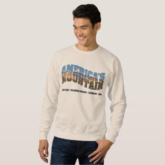 Pikes Peak, Colorado - America's Mountain Sweatshirt