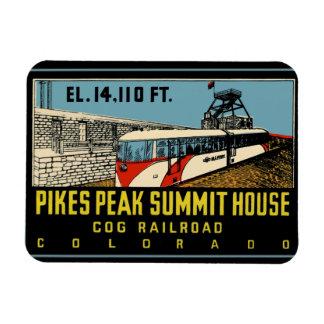Pikes Peak Colorado Rectangular Photo Magnet