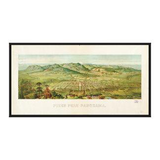 Pikes Peak, Colorado Springs, Colorado (1890) Canvas Print