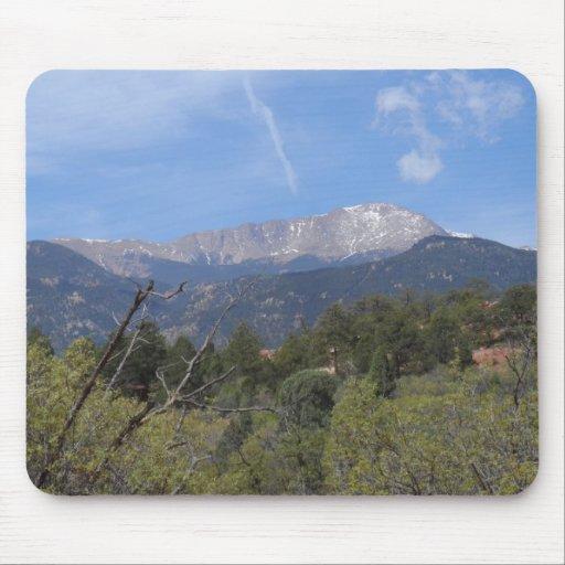 Pikes Peak- Colorado Springs Mouse Pads