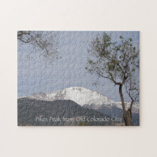 Pikes Peak from Old Colorado City Puzzle