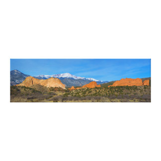 Pikes Peak in the Springtime Canvas Print
