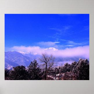 Pikes Peak Mountain, Colorado Springs, CO Poster