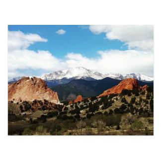 Pikes Peak Postcard