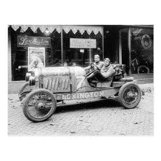 Pikes Peak Race Car 1922 Post Card