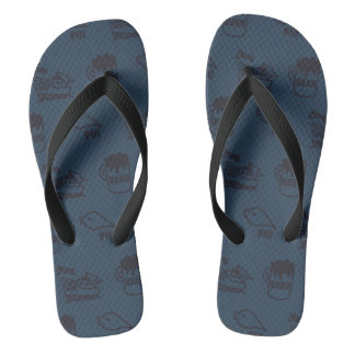 PIKONOTE beach sandal/navy [BEER and SHIP and Thongs