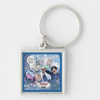 Pilates Airlines Rick London Funny Gifts Key Ring