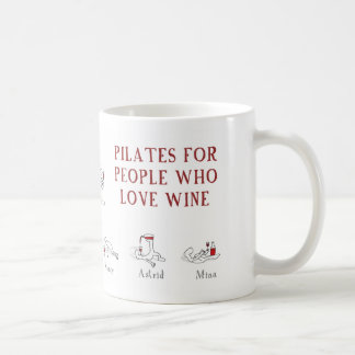 pilates coffee mug