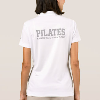 Pilates Easier Said Than Done Polo Shirt