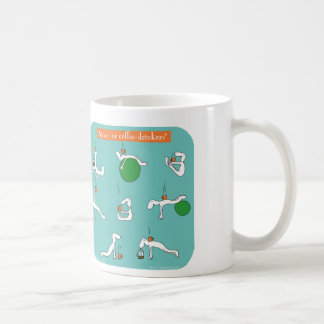 pilates for coffee lovers coffee mug