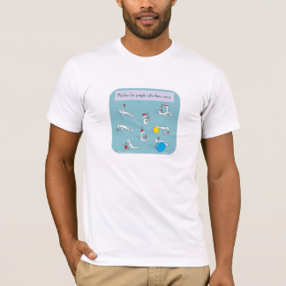 pilates for wine lovers T-Shirt