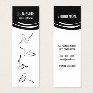 Pilates instructor mini business card