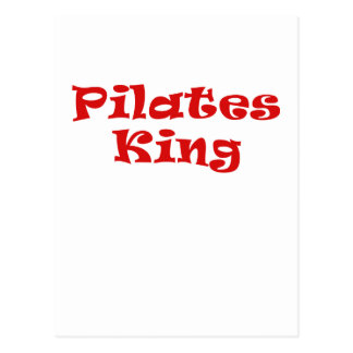 Pilates King Postcard
