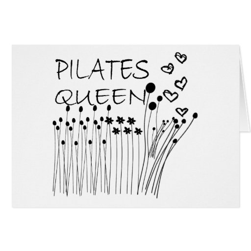 Pilates Method Queen! Greeting Cards