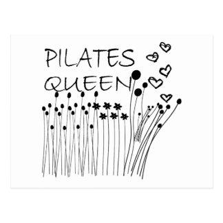 Pilates Method Queen! Postcard