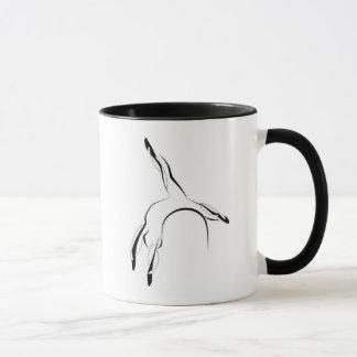 Pilates pose mug