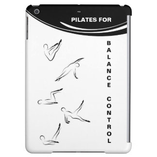 Pilates poses cover for iPad air
