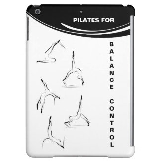 Pilates poses iPad air case