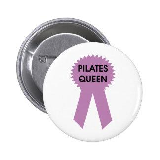 Pilates Queen 6 Cm Round Badge