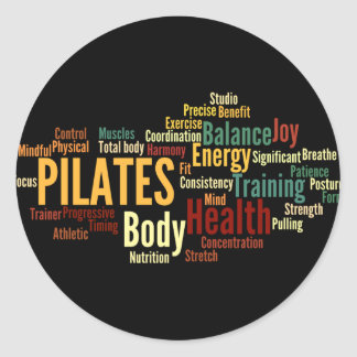 PILATES Sticker