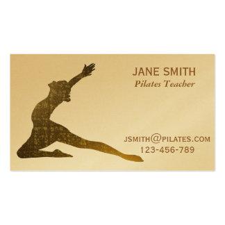 Pilates Teacher Pilates Instructor stylish Pack Of Standard Business Cards