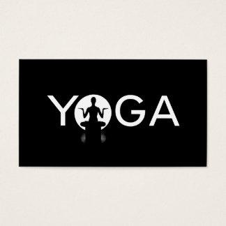 Pilates, Yoga Instructor Meditation, Spiritual Business Card