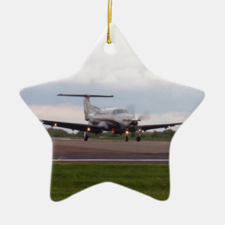 Pilatus PC 12 Ceramic Ornament