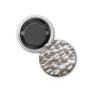 pile fabric 3 cm round magnet