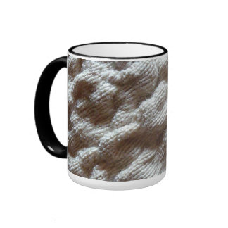 pile fabric mug