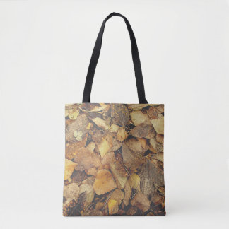 Pile of Autumn Leaves Tote Bag