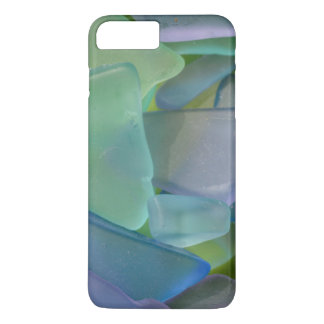 Pile of blue beach glass, Alaska iPhone 7 Plus Case