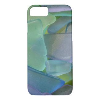 Pile of blue beach glass, Alaska iPhone 8/7 Case