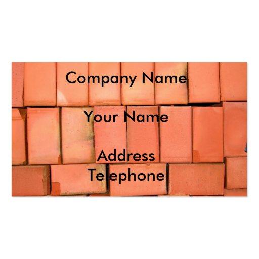 Pile of Bricks Business Cards