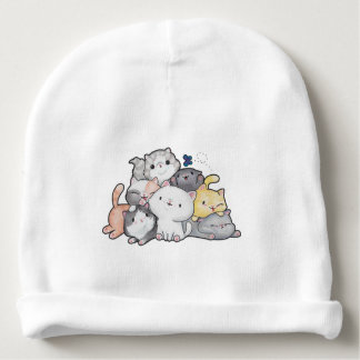 Pile of Kittens Baby Beanie