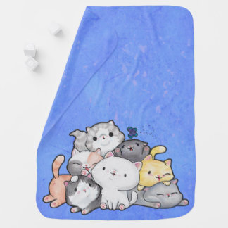 Pile of Kittens Baby Blanket
