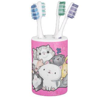 Pile of Kittens Bathroom Set