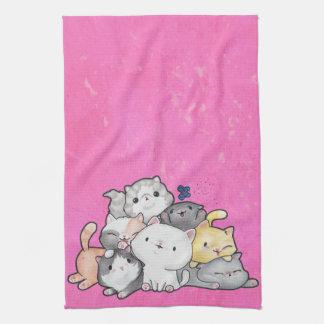 Pile of Kittens Tea Towel