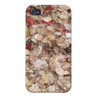 Pile of Leaves iPhone 4 Case