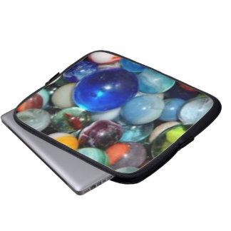 Pile of Marbles Laptop Sleeves