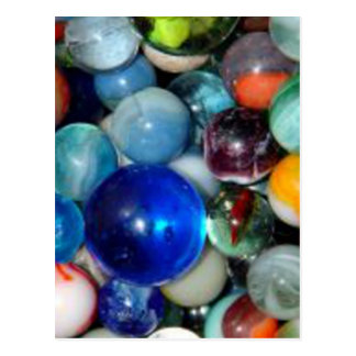 Pile of Marbles Postcard