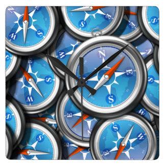 Pile of Nautical Compasses Wallclocks