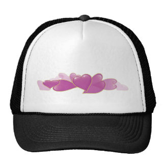 Pile of Pink Hearts Trucker Hat