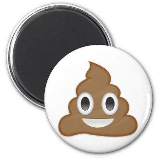 Pile Of Poo Emoji 6 Cm Round Magnet