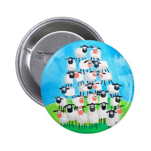 Pile of sheep pin