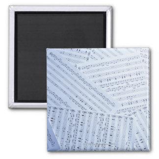 Pile of Sheet Music Magnet